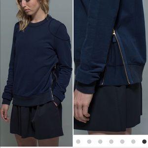 Lululemon | Future Varsity Pullover Zip Sweatshirt